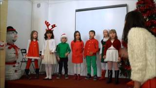 Serbare Craciun Shakespeare School Victoriei grupa J1D - Santa Has a Red Red Coat
