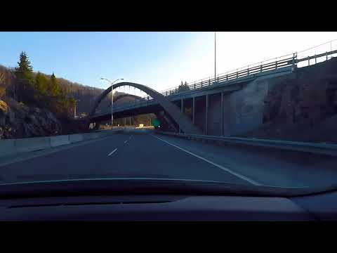 Driving In Canada : From MONTREAL to MONT-TREMBLANT (spring edition)