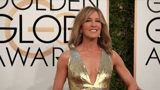 Felicity Huffman Fashion - Golden Globes 2017