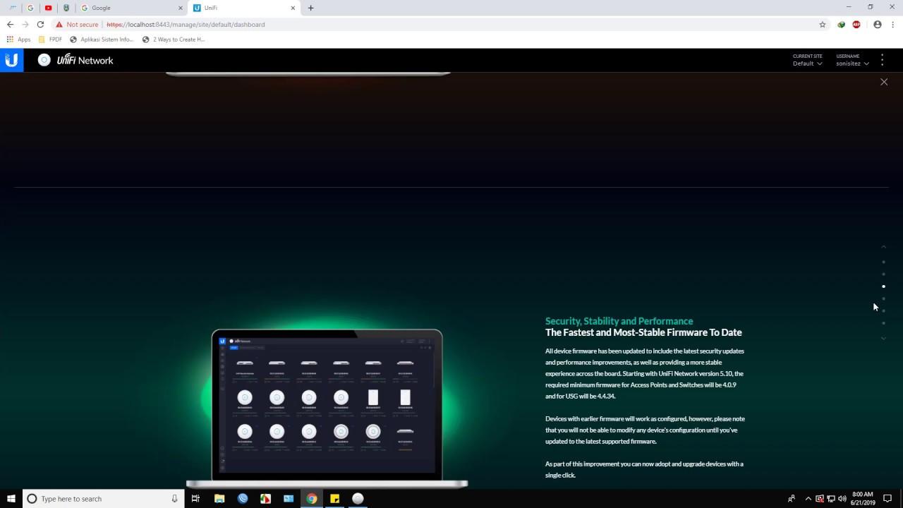 Unifi Controller Update