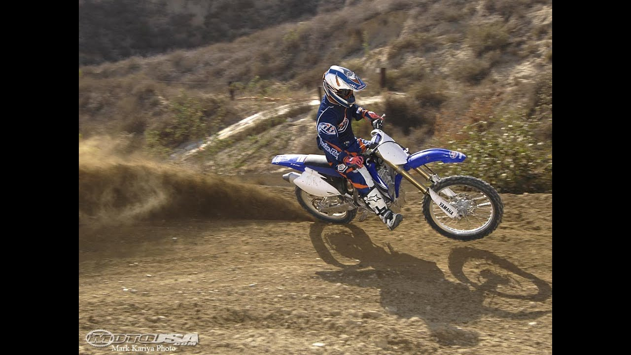 2008 Yamaha YZ250F First Ride - MotoUSA - YouTube