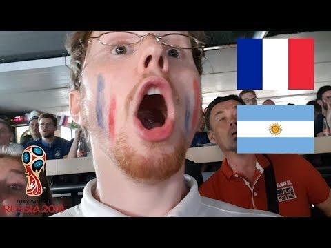 ambiance de ouf dan un bar (France - Argentine)