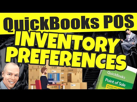 QuickBooks POS: Inventory Settings & Preferences