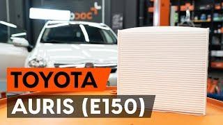 Întreținere Toyota Auris e15 - tutoriale video gratuit