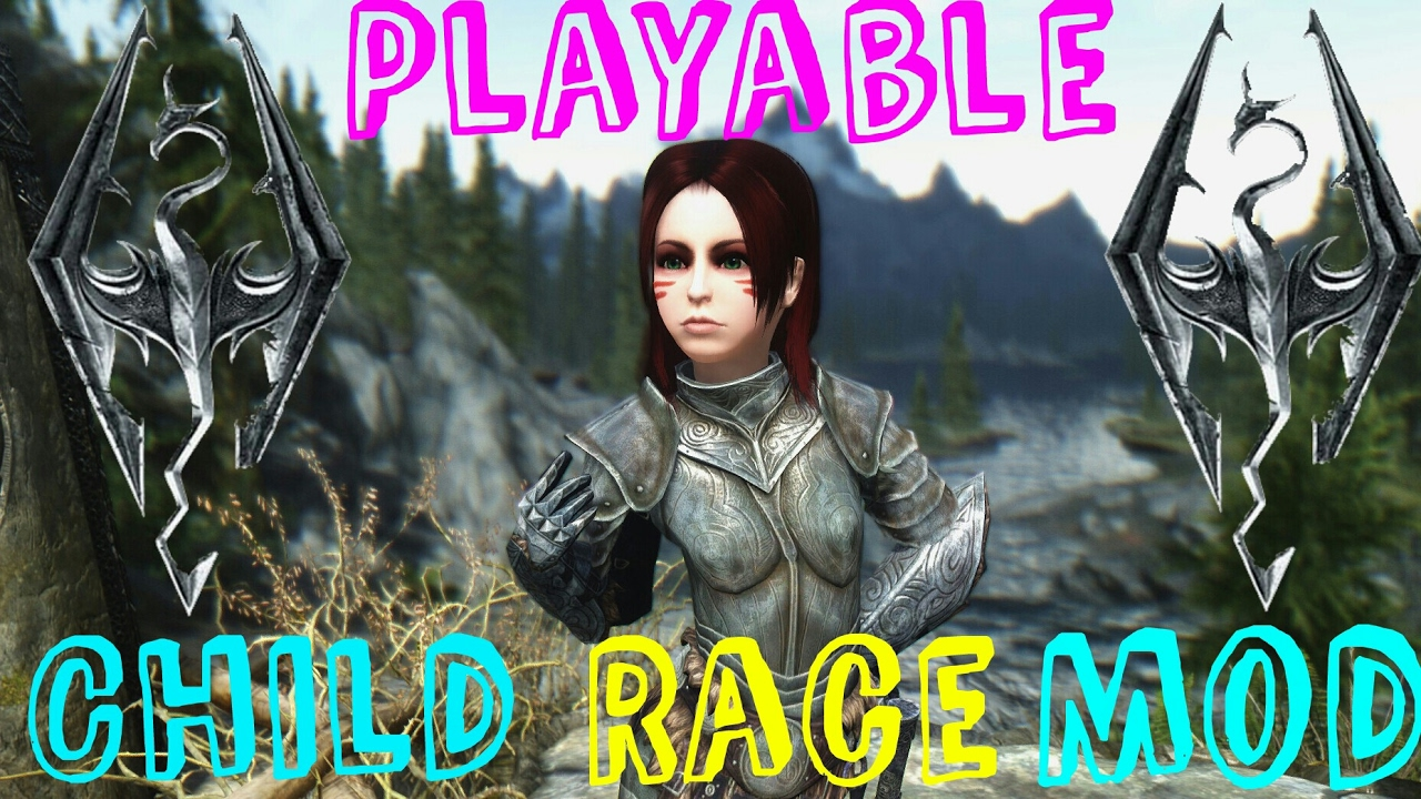 Skyrim Special Edition Playable Child Race Mod (PS4)