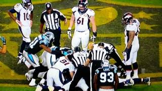 Peyton's arm ripped off in superbowl 50