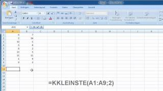 40 weitere Excel-Funktionen - KKLEINSTE