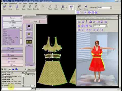 V stitcher how to use apparel design software youtube for Software decoracion interiores 3d gratis