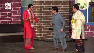ZAFRI KHAN TARIQ TEDI NASIR CHANUTI KA MUQABLA - Best Comedy Scenes  in Stage Drama||Very Funny😂