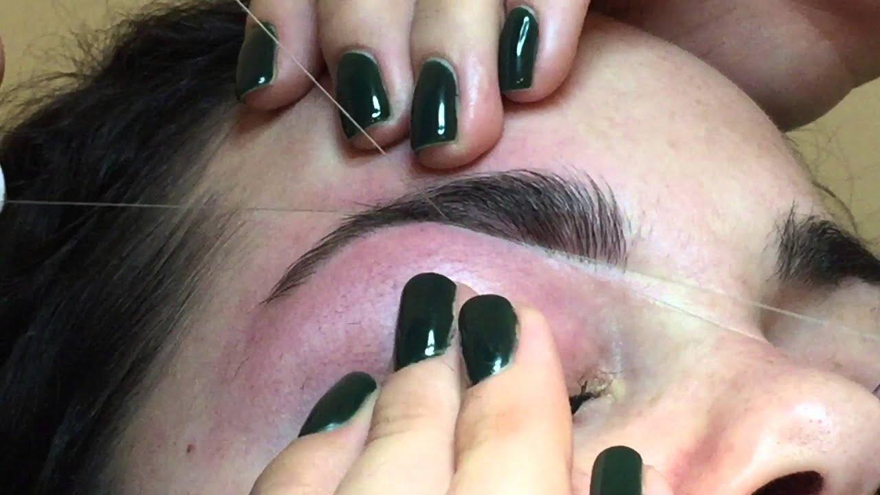 Eyebrow Threading 15 Youtube