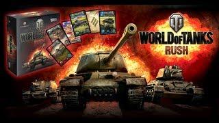 World of Tanks: Rush  настольная игра. Правила игры. Видео-обзор.