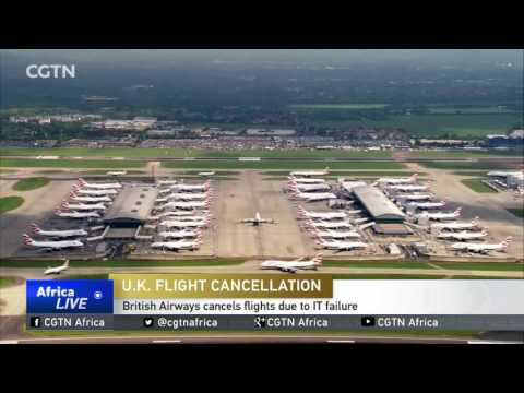 U.K. Flight Cancellation: British Airways cancels flights due to IT failure