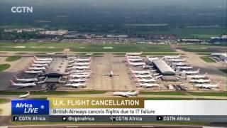 U.K. Flight Cancellation: British Airways cancels flights due to IT failure