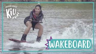 Thaynara MUITO radical praticando wakeboard | #19 | Minha Vida é KIU | Thaynara OG