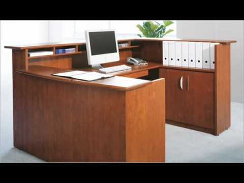 reception desks and more at bina office furniture - youtube