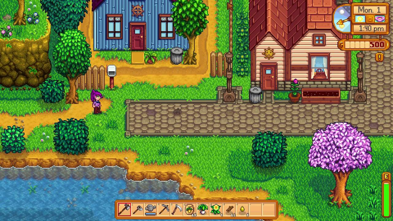 Stardew Valley Introduction Quest