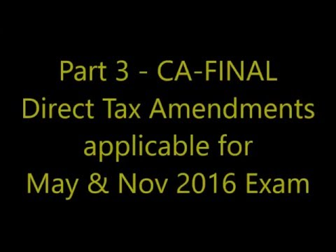 Direct Tax