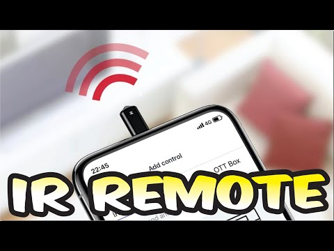how to use ir remote on iphone