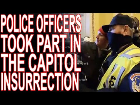 Police Officers Identified Among Those Who Stormed The Capitol!
