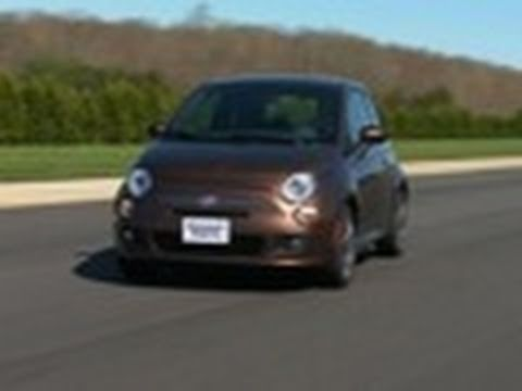 Fiat 500 first drive | Consumer Reports - YouTube