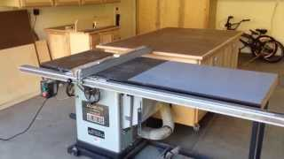 Out Feed Table For My Table Saw
