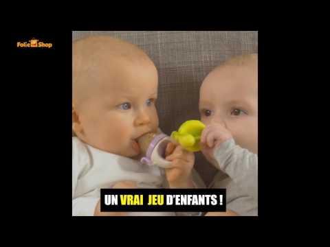Tétine à fruit et grignoteur d'aliments solides pour bébé