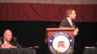 Georgia Republican Party Convention May 18, 19, 2012 Part 4.wmv