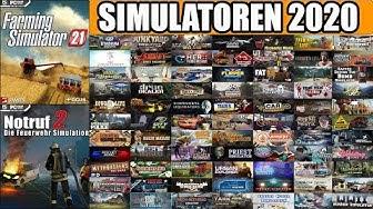 SIMULATOREN 2020: Diese 80 Simulatoren kommen nächstes Jahr!