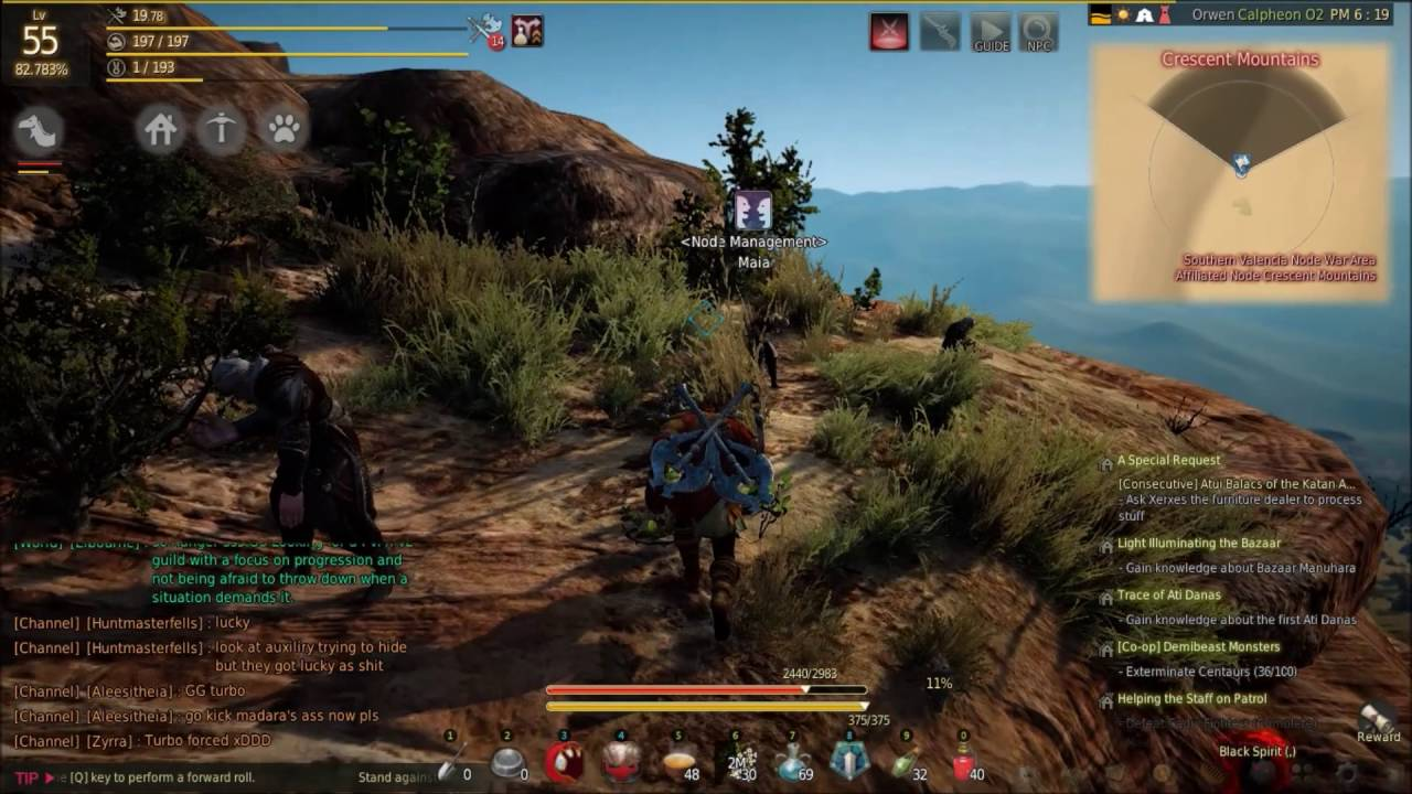 BDO: How to unlock Crescent Mountain node in Valencia