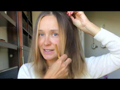 Вопрос: Как осветлить пряди волос?