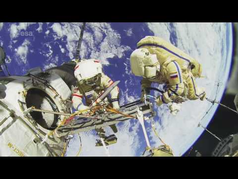 Intricate International Space Station Tour In New ESA Documentary   Video
