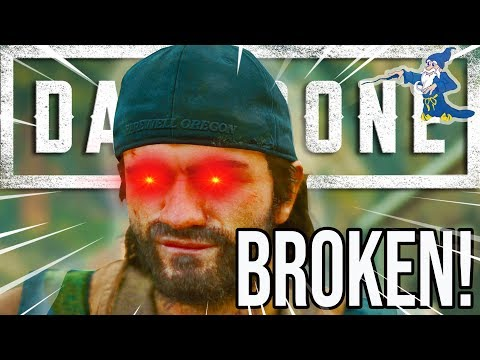 FILTHY GAME BREAK!! DAYS GONE CHEAT CODE BREAKDOWN!! | PS4 PRO 4K