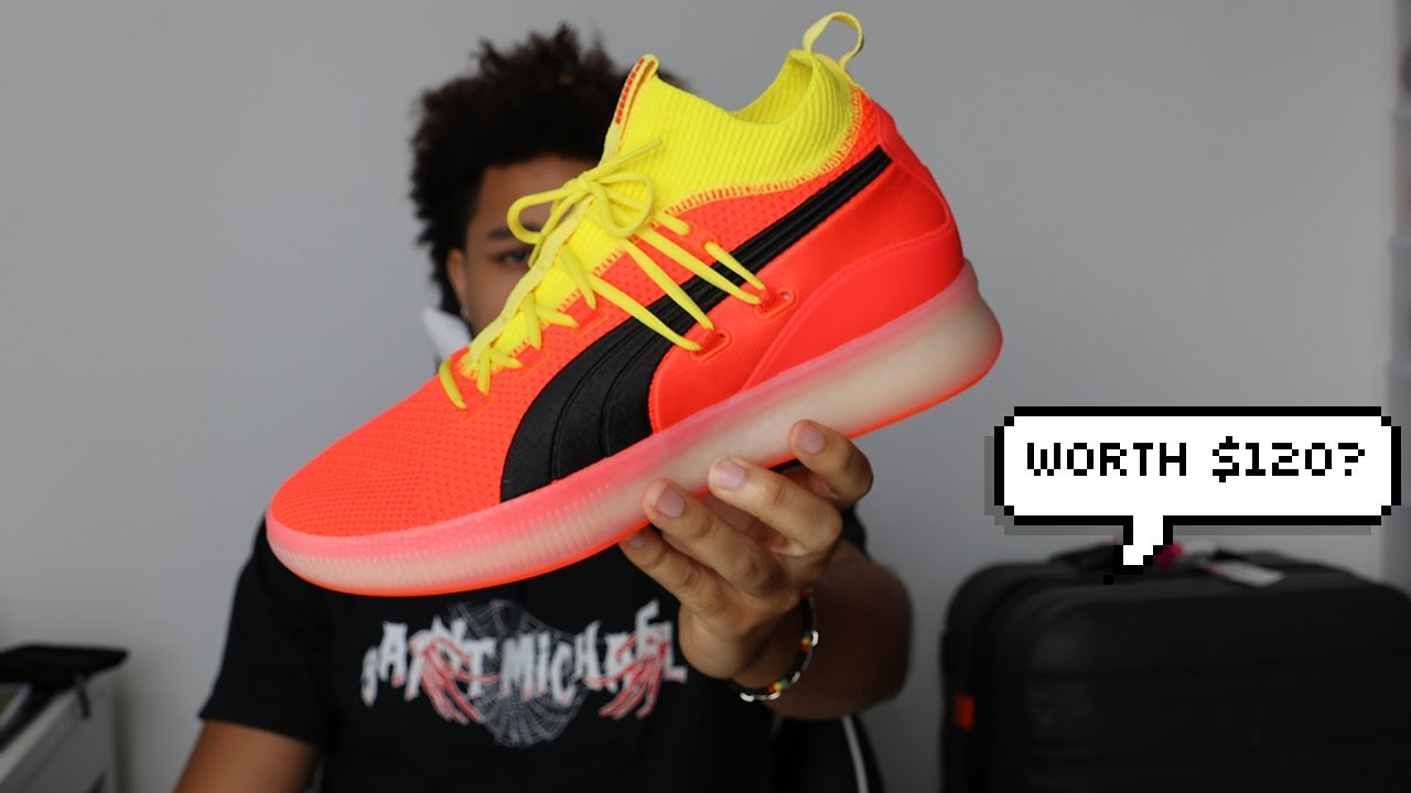53e78d8693736a PUMA CLYDE COURT DISRUPT FIRST IMPRESSION!! - YouTube