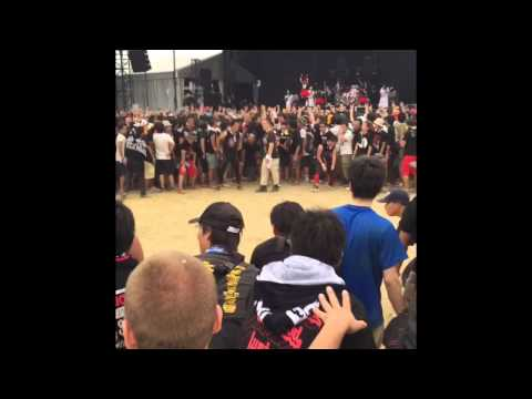 BABYMETAL〜Wall of Death@SUMMER SONIC大阪