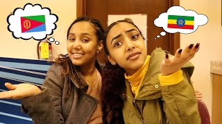 Zapętlaj SPEAKING ONLY TIGRINYA AND AMHARIC TO MY BEST FRIEND | Hermela and Hermon