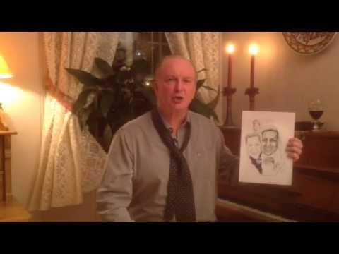 Thorvald Stoltenberg har begynt som karikaturtegner 😄