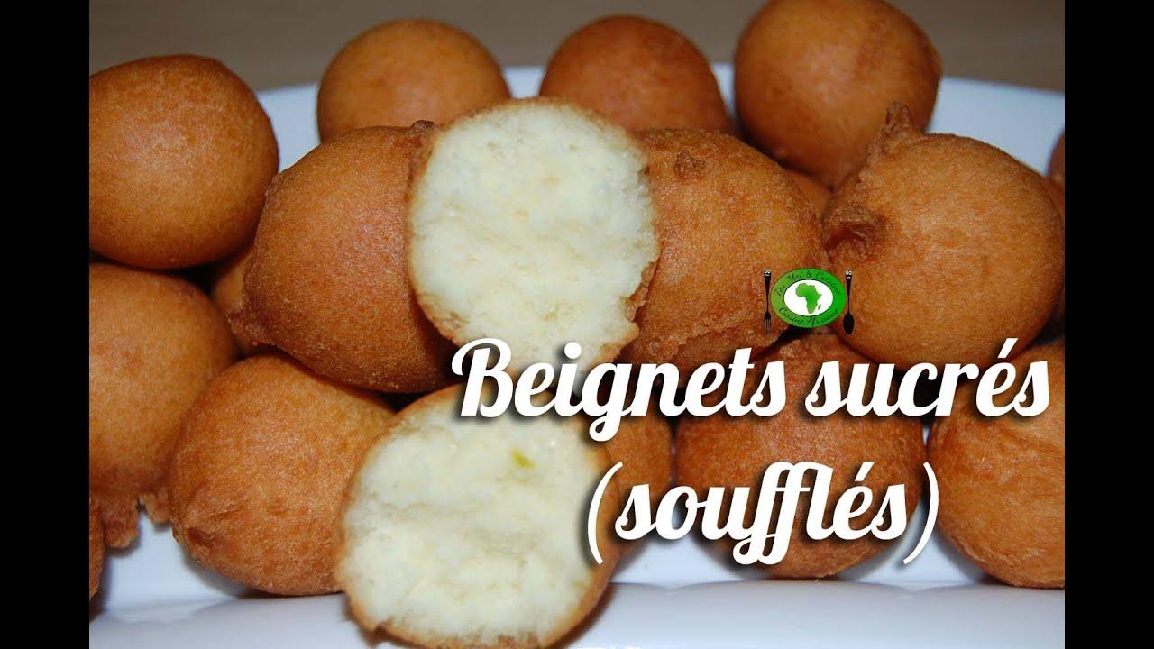 Recette beignets sucr s beignets souffl s sweet fritter recipe youtube - Recette pate a beignet sucre ...