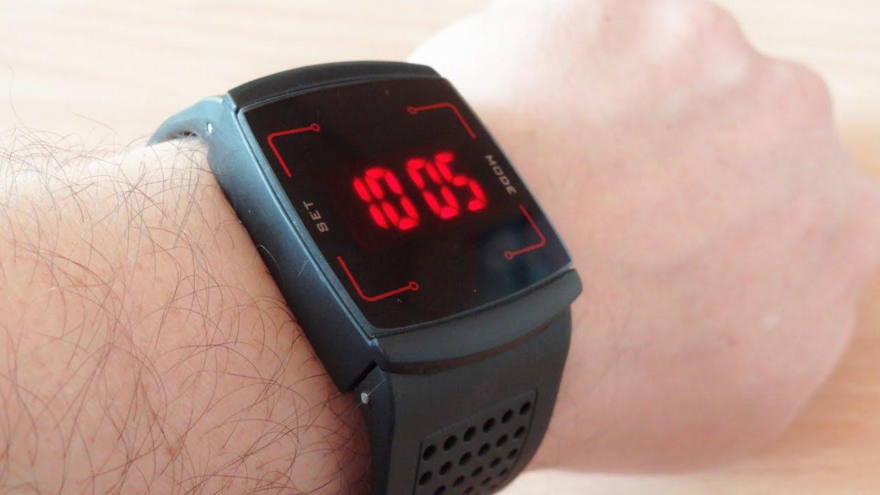 Наручные сенсорные часы - YouTube