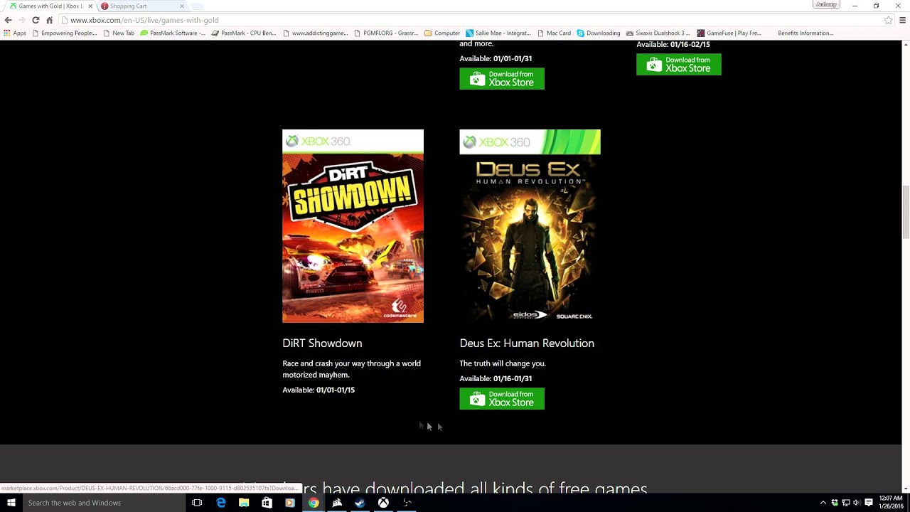 How To Get 360 Games With Gold On Xbox One Without Owning