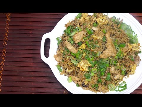🔴 Chicken Fried Rice - Deliberately Burned for an Amazing Taste - Try this out it Works
