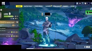 fortnite cheating w/ skull trooper skin