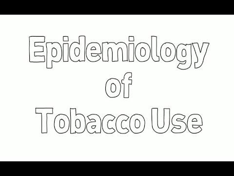 Epidemiology Of Tobacco Use