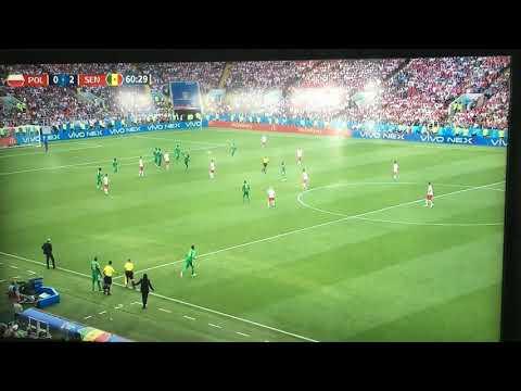 Senegal vs Poland 2-0 GOAL