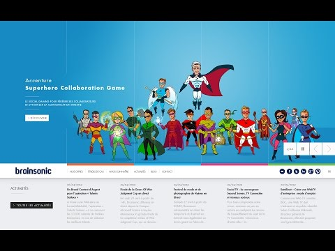 Accenture : Accenture Superhero Collaboration Game