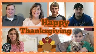 WE ARE THANKFUL FOR ........... YOU!!!