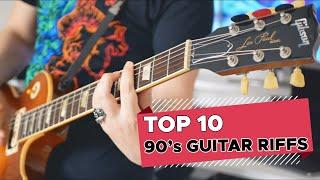 Top 10 Guitar Riffs Of Each Decade: 90's