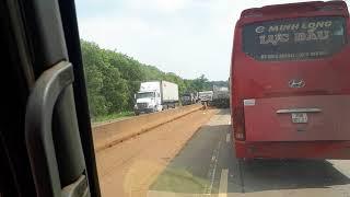 Tai nạn giao thông tại Cáp Rang Long Khánh