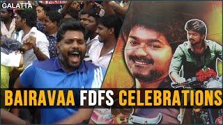 Bairavaa FDFS Celebration