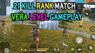 What the F***k Free Fire 🔥game paly || 21 kill rank match free fire game paly|| Run 🏃Gaming🎮