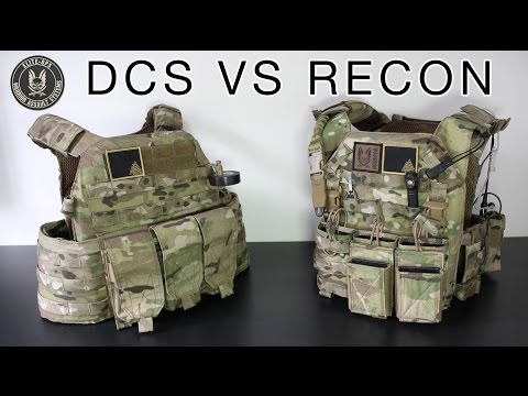 Warrior Assault Systems - DCS vs Recon Plate Carrier